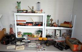 Post war Lionel trains and accessories