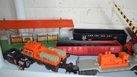 Lionel post war trains