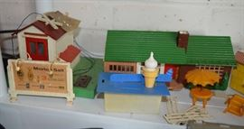 Plasticville Toys