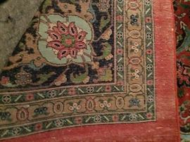 More hand knotted antique 100% wool rugs