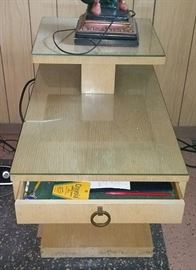 Lane Mid-Century Modern Tiered End Table (Two Available)