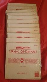 Seeburg Rec-O-Dance, Disco Teen Stereo Series 45 size 33 1/2 rpm Jukebox Records