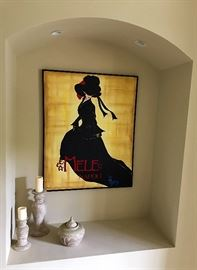 Stretch Canvas Italian Fashion Wall Art Painting