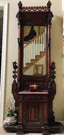 Handsome Victorian Hall Tree (Provenance Available!)