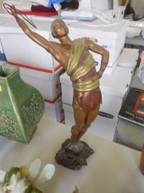 Erte Bronze, limited, signed, numbered and COA.