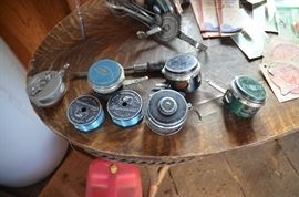 antique fishing reels