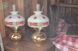Budweiser lamps - 70's 80's
