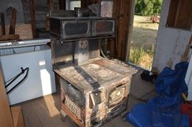 old wood cookstove