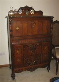 beautiful old bedroom set