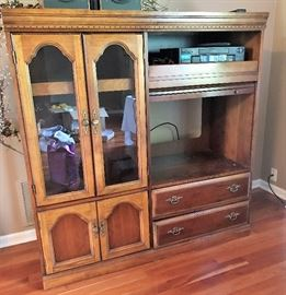 Stereo, TV Cabinet
