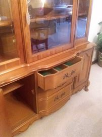 china hutch storage