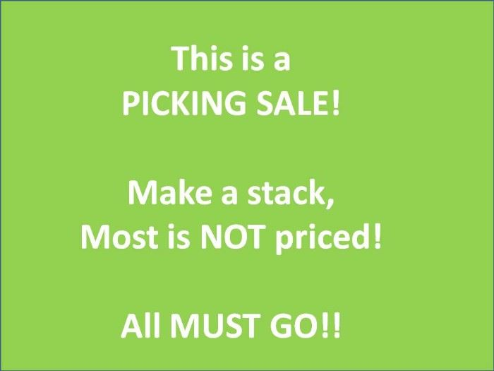 picking sale