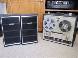 Sony speakers, and Sony reel to reel