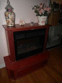 Amish-Crafted heater w/ optional lower drawer for storage