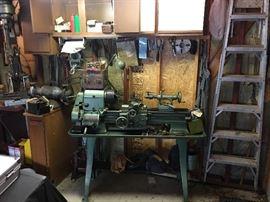 Logan model 1920 54-1/2in. Metal lathe