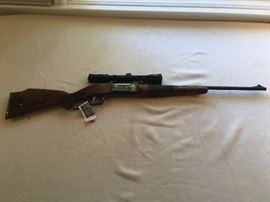 Savage Model 99 .308 Cal Lever Action Hunting Rifle with Bushnell Scope
