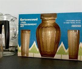 Unopened Anchor Hocking glassware