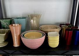 Vintage kitchenware, including McCoy