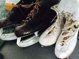Men's and women's, boys and girls ice skates
