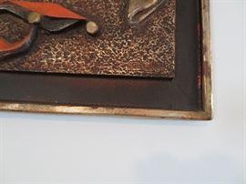 #5-Harlequin 3-D Mid Century Artwork-$275