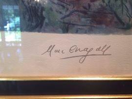 Marc Chagall Signature