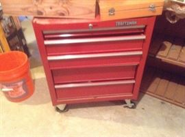 Craftsman Stand up Toolbox/s