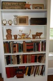 Assorted Antique Asian Collectibles.Nautical Items,Antique Books & Prints.