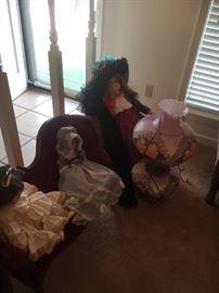 Porcelain dolls large size