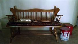 bench /settee 85 bucks