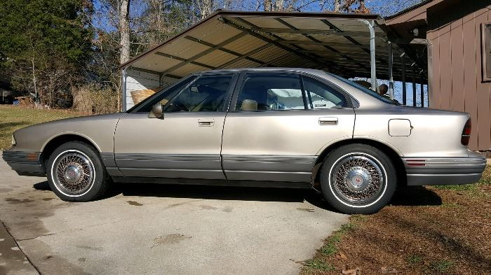 1993 Oldsmobile Delta 98, 107,000 original miles (approx 4500 miles per year), one owner, a/c, heat, never wrecked. More pictures to follow.
