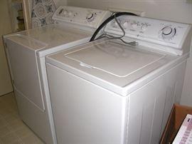 Maytag washer and Maytag dryer