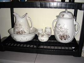 Washbowl 6-piece set