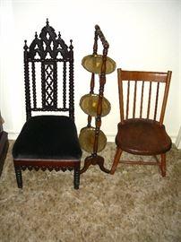 Gothic child's chair