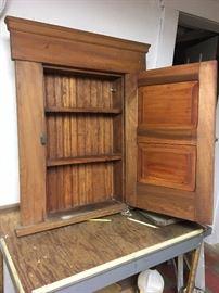 inside of cabinet