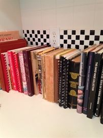 Some of the many recipe books