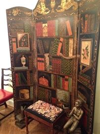 Book theme room divider