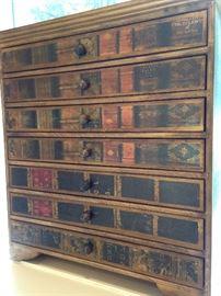 "Unique ""book"" chest"