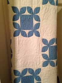 One of several vintage quilts