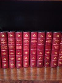 "Leather bound ""Works of Shakespeare"""