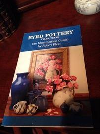 Byrd Pottery book by Robert Fleet of Tyler, Texas