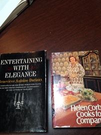 Helen Corbit autographed cookbook