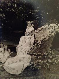 1936 Miss Gertrude Ann Windsor - 4th  Queen of the Tyler Rose Festival  (Trudy and Bill's Mother)