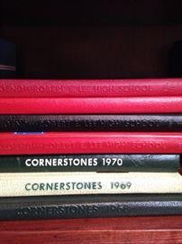 Hockaday and Robert E Lee yearbooks