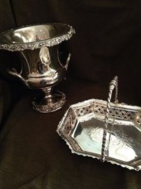 Other fine pieces of silver and/or silver plate