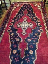 5 feet 3 inches x 11 feet 4 inches Persian rug - Iran