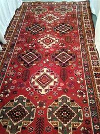 Shiraz 5 feet x 9 feet 2 inches Persian rug
