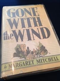 "First Edition (with jacket) of ""Gone With the Wind"" by Margaret Mitchell"
