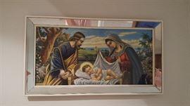 Jesus Mirror Framed