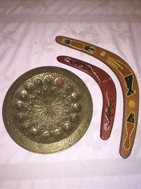 Morocco Tray, Australian Boomerang
