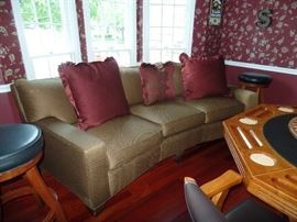 3 Cushion Couch-when bought, it was very expensive
